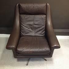Danish Leather Armchair Comfy Danish Leather Chair