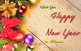 best happy new year advance wishes 2018