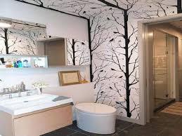 funky bathroom wallpaper ideas skillful wallpaper bathroom ideas funky uk border contemporary hgtv