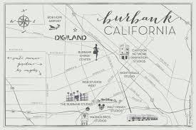 California Airports Map Neighborhood The Relevance Of Burbank Burbank Is The Place To Be
