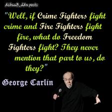 george carlin used comedy to preach his views on achaab dan gh