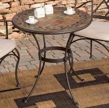 Mosaic Bistro Table Furniture Adorable Mosaic Bistro Table And Chairs Set Enticing