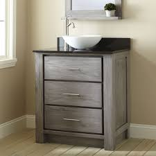 Gray And Brown Bathroom by 30