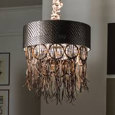 Bamboo Ceiling Light Boho Chic Woven Leather Bamboo Ceiling Light Juliettes Interiors