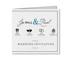 wedding invitations timeline wedding invitation his his timeline planet cards co uk
