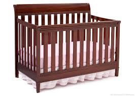 Cherry Convertible Crib by Delta Espresso Crib Rail Creative Ideas Of Baby Cribs