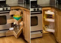 Corner Kitchen Cabinet Storage by Kitchen Shelves Shelfgenie Of West Palm Beach