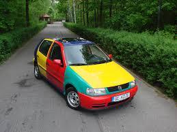 volkswagen harlequin volkswagen polo harlekin 1996 sprzedany giełda klasyków