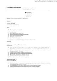 resume for college applications high student resume exle for college application best
