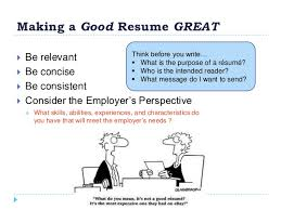 Making A Great Resume How To Create A Winning Resume