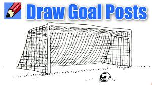 draw a goal real easy youtube