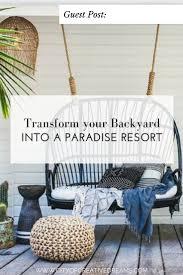 transform your backyard into a paradise resort city of creative