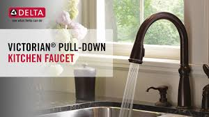 victorian kitchen faucet amazing delta victorian single handle pull down sprayer kitchen