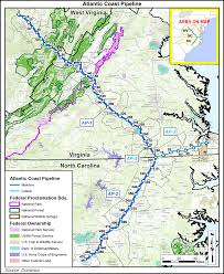 Washington Coast Map Atlantic Coast Pipeline Stirring Controversy In West Virginia