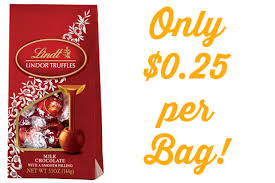 amazon lindt black friday lindt lindor truffles only 0 25 at rite aid