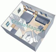 two bedroom cabin floor plans vision of the seas cabins and suites cruisemapper