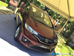 honda brio automatic official review a quick glimpse at the 2015 honda jazz in pictures