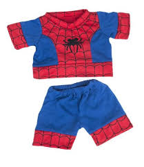 teddy clothes spiderbear pj s teddy clothes fits most 14