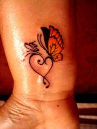 butterfly tattoos heart tattoos small tattoo u0027s pinterest