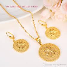 fine jewelry necklace store images 24k solid fine gold filled new blossom fashion ethiopian jewelry jpg
