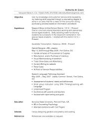 Customer Representative Resume 28 Career Objective In Customer Service Customer Service
