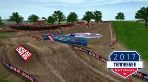 motocross race track design lucas oil pro motocross kawasaki track map muddy creek