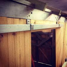 Barn Door Railing by Building A Sliding Barn Door Mauledbydesign