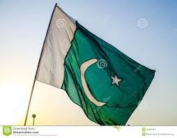 Pakistans Flag Pakistan Flag Stock Photo Image Of Evening Light Pakistan