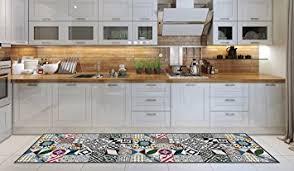 acariens de cuisine tapis de cuisine lavable en machine cuisine de tapis 52cm x 180cm