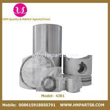 china isuzu 4jb1 4jb1t 4ja1 4ja1t engine cylinder liner kit