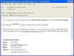Sending Resume Via Email Ideas Of Sample Format For Sending Resume Through Email For Your