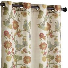 Linen Curtains With Grommets Soprano Grommet Curtain Grommet Curtains Linens And Window Panels