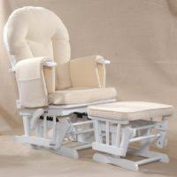 furniture feeding chairs and gliders plus white ottoman using