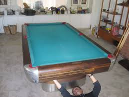 ebonite pool table 3 piece slate brunswick anniversary lives on dk billiards pool table moving this