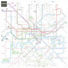 underground map underground and rail map mapping and wayfinding