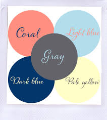 colors that go with dark blue unac co