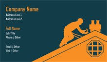 personalized standard business cards designs roofing