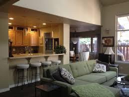 Open Living Room Kitchen Designs Best 25 Semi Open Kitchen Design Ideas On Pinterest Semi Open