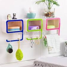 Storage Boxes For Bathroom 9 Shape Creative Storage Box