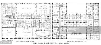 floor plans the park lane hotel new york city 1924 pictures