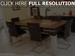 chair modern dining room tables solid wood busca furniture with
