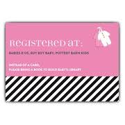 baby registry cards baby shower registry cards paperstyle