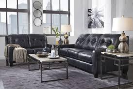 o u0027kean navy sofa u0026 loveseat leather living room groups