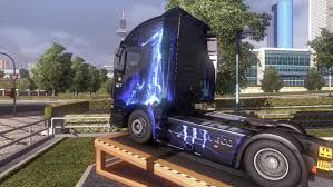 skin pack new year 2017 for iveco hiway and volvo 2012 2013 iveco stralis hi way blue skin interior modhub us