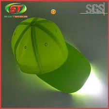 hats with lights built in hard hat with led light baseball cap with built in led light led cap
