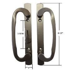 Patio Door Mortise Lock by Stb Sliding Glass Patio Door Handle Set Mortise Type Bronze 3