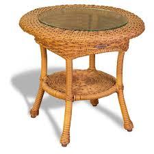 Rattan Side Table Tortuga Outdoor Wicker Side Table Wicker