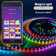 music led strip lights bluetooth computer led strip kit airgoo 3 28ft rainbow color music