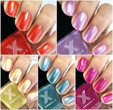 formula x the technicolor silks nail polish collection review and