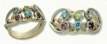 mothers ring 6 stones custom mothers jewelry mothers day gifts quality jewelry